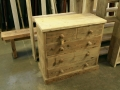 A handmade chest of drawers at the Brighton Wood Store