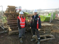 Working with Community Wood Recycling saves Wilmott Dixon money