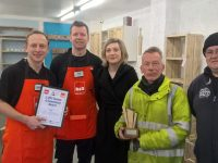 2000 tonnes collected from B&Q