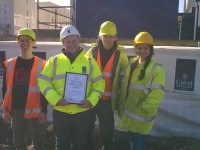 100 tonnes recycled at Bath Western Riverside