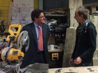 Wates visits Community Wood Recycling